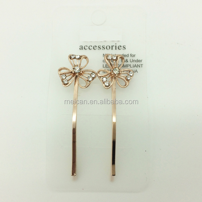 Fashion girls Handmade Jewelry Hairpins For Hair clip