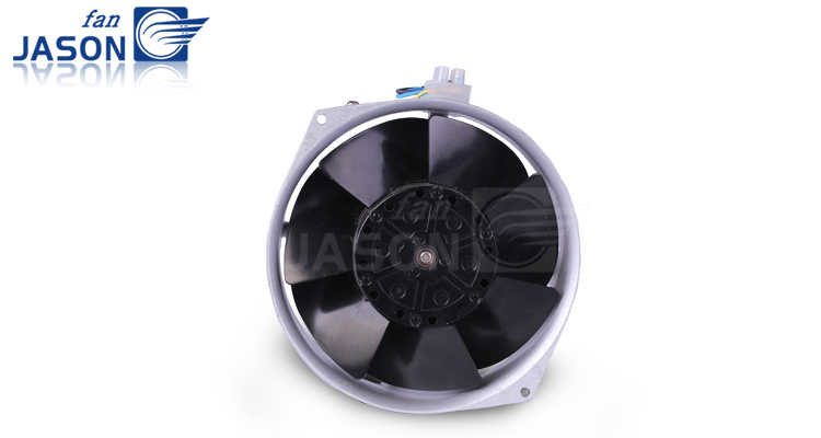 230V Metal Blades Impeller Fan 172mm*150mm*55mm