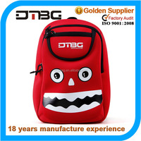 Kids cartoon picture of neoprene school bag