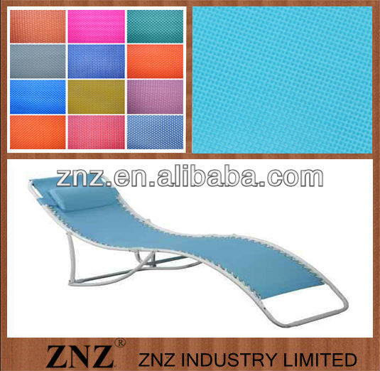Fabrics for hammock,chair cover, sunshine cloth,PVC coated woven nets by ZNZ
