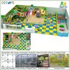 Free design CE & GS standard eco-friendly LLDPE kids soft play with indoor playground flooring