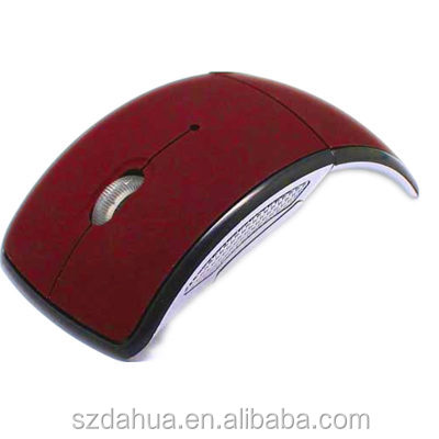 promotional Foldable 2.4G Wireless optic custom logo wireless mouse