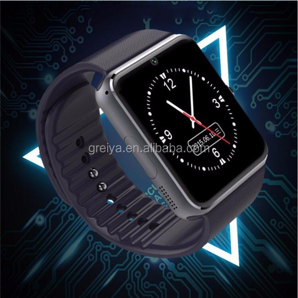 cheap MTK 6260 Watch Phone 2017 Touch Screen Smart Watch GT08