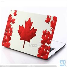 Embossed Maple Leaf Pattern Hard plastic Case for Macbook Pro 13 inch P-APPPRO13PCCA002