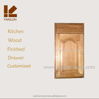 kitchen use solid maple wood arch shaped door