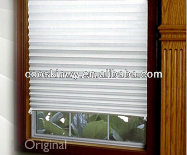 Papel de moda plegable impermeable ventana persianas - Cortinas de papel para navidad ...
