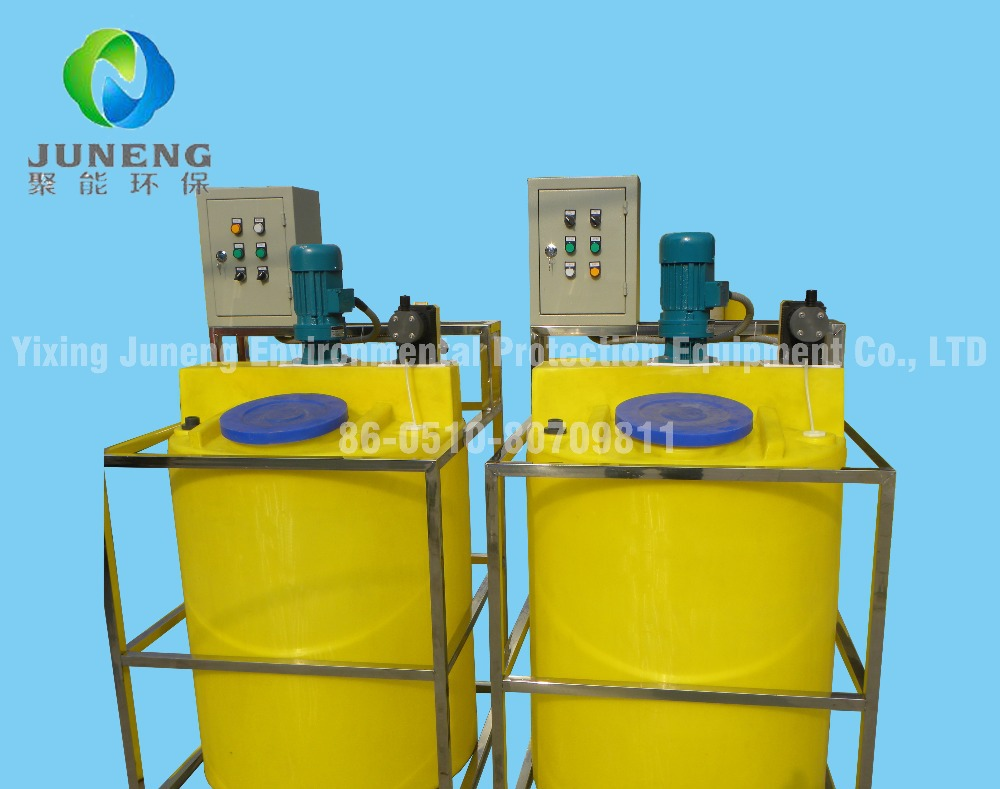 Simple Chemical Dosing System With Dosing Pump