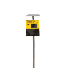 High quality solar traffic radar speed limit sign