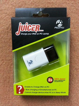USB JUICER for IPAD/TABLETS
