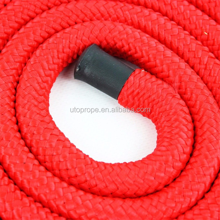 NEW 8' RED WESTERN PONY HORSE BRAIDED NYLON LEAD ROPE