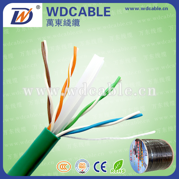 24AWG UTP Cat6 LAN Cable Network Cable Multi core cat6 Eu standard cable with CE Approved