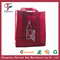 6 bottle Non-woven wine bags