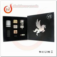 TOP Sell spots electronic cigarette in egypt dripper atomizer Dark Horse V2 & high quality e cig wholesale
