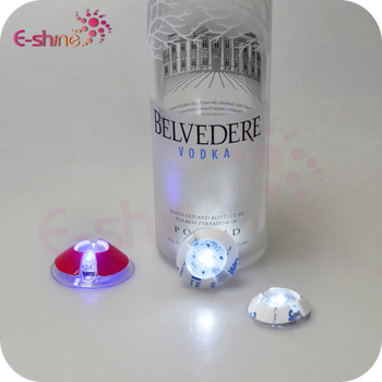 New Product CE and RoHS certified Water Led Bottle Lights