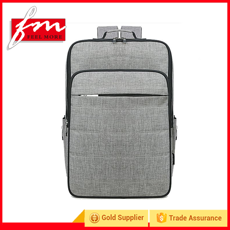 China Fujian fashion computer backpack laptop Bags polyester nylon hiking laptop backpack