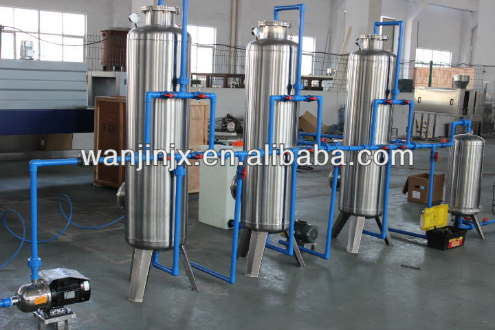 Low-priced sale of mineral water, purified water, beverage ingredients processing system