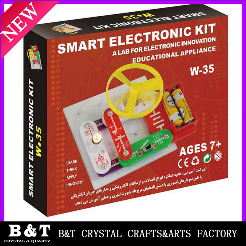 Snap Circuits SC-100 Electronics Discovery Kit