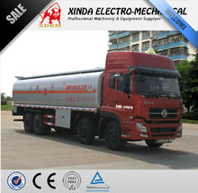 XDEM Dongfeng 8x4 25000L Tianlong Oil Transport Tanker, Fuel Delivery Tank Truck