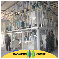 Maosheng wheat/corn flour mill with best price
