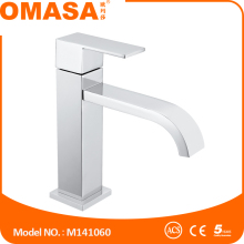 Water saving faucets waterfall flow basin mixer for bathroom