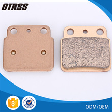 High density sintered copper brake pad for ATV off road market for long lifetime