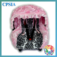 Pink Baby Car Seat Headrest Cute Baby Car Seat Covers CanopyGashion Baby Car Seat Cover
