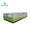 Island Freezer Of Supermarket Refrigeration Equipment