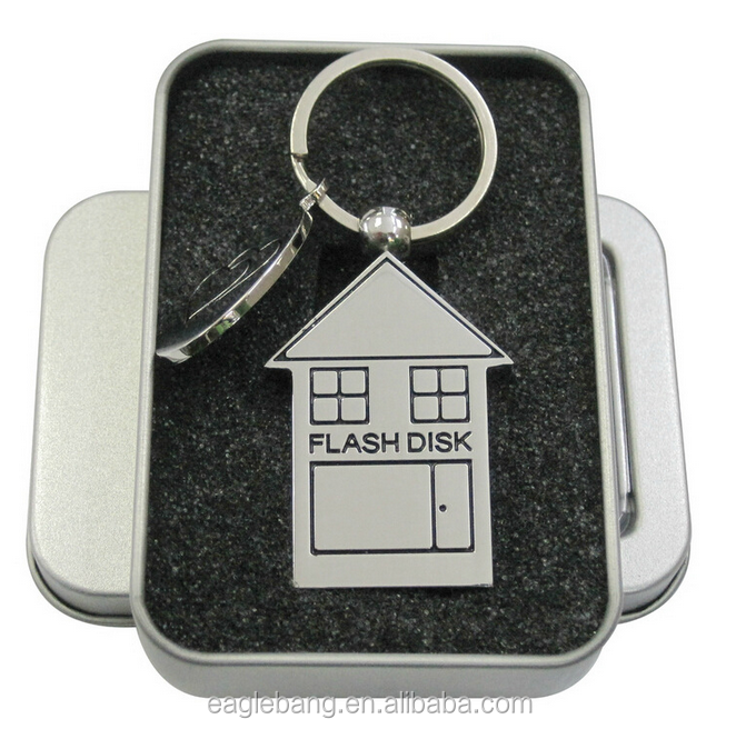 wholesale usb memory stick china custom usb flash lovely house style 32GB 128GB 128GB usb