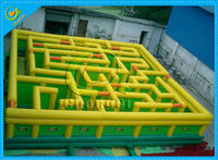 New design inflatable maze for sale, inflatable outdoor maze