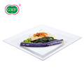 Wedding salad snack white charger plate for appetizer