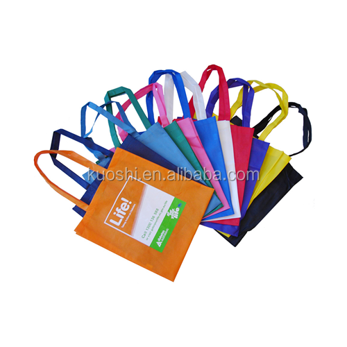 wholesale economic reusable plastic shopping tote bags
