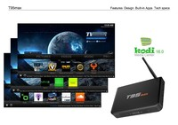 Metal Case 2GB/ 32GB T95 max Amlogic S905 Quad Core Andorid 5.1 TV BOX 2.4G/5GHz WiFi BT4.0 from dragonbest