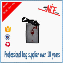 2015 alibaba China most favourite nonwoven wine bottle gift bag,2 bottle wine bag.