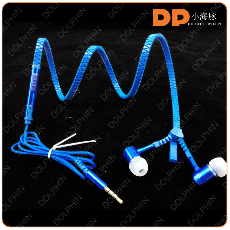 hot selling zipper style voice changer earphone for mobile phone
