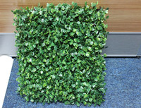 artificial boxwood hedge grass ball, green grass for decoration, green plastic artificial grass