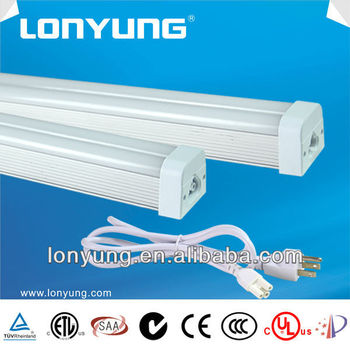 low carbon 12v led tube light T5 twin fluorescent lamps 20w