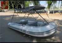 Chinese manufacture inflatable fishing boat with CE certification