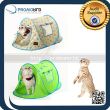 Custom Easy Carry Ship Shaped Pet Camping Tents Dog And Cat House Tent