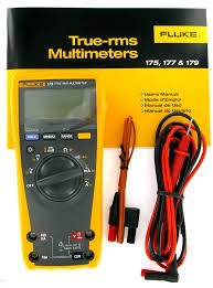 Fluke-179 True RMS Digital Multimeter w/ Temperature