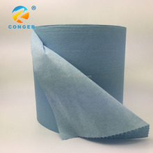 Automotive Wipers Cellulose and polyester spunlaced nonwoven fabric for converting car wipes