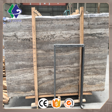 Factory floor tile price natural stone marble silver travertine