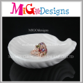Personalized Porcelain Ring Holder Dish Engagement Party Gift ceramic ring holder