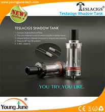 Newest Teslacigs Shadow Tank with Cyclops Style bottom airflow