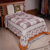 100% cotton patchwork quilt bedspread