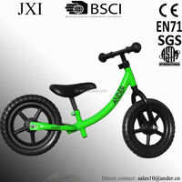 ANDER baby balance small bicycle made in china with color rims