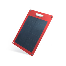 Hanergy 8w portable solar sun charger mobile with cigs solar cell