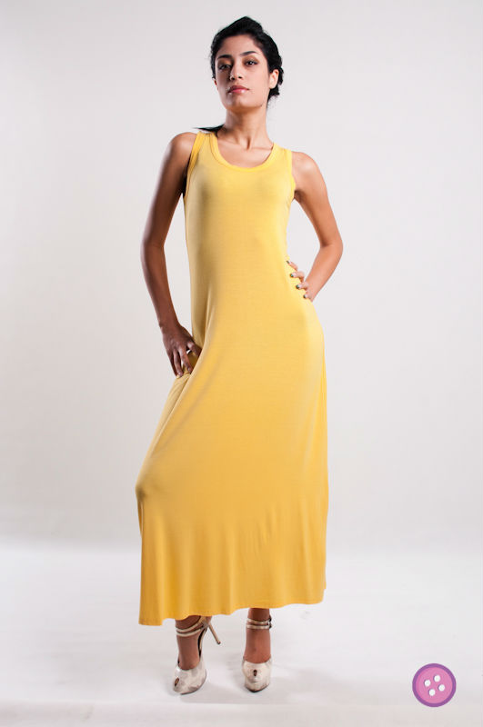 2013 Sleeveless RACER BACK Long Maxi Dress