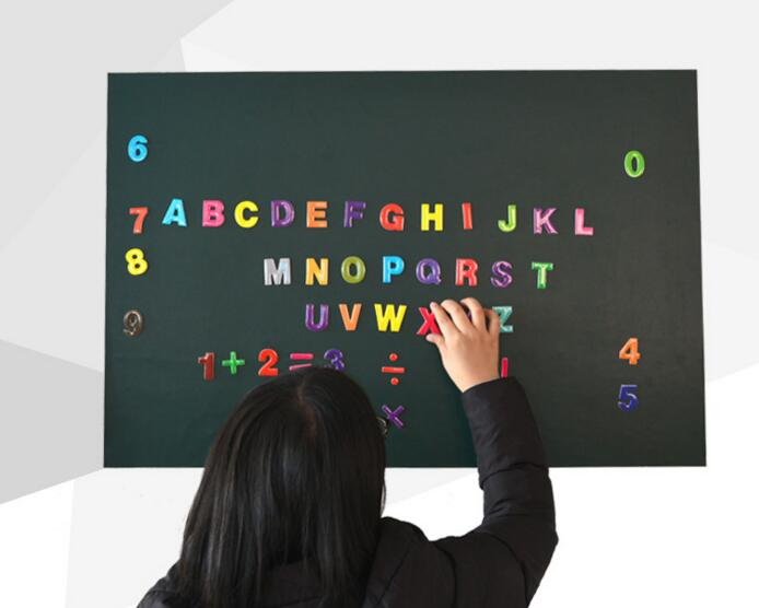 polypropylene recyclable magnetic customized size chalkboard stickers