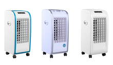 Vietnamese market hot selling good price factory supply two ice packs stand fan air cooler fan BL-138DLR