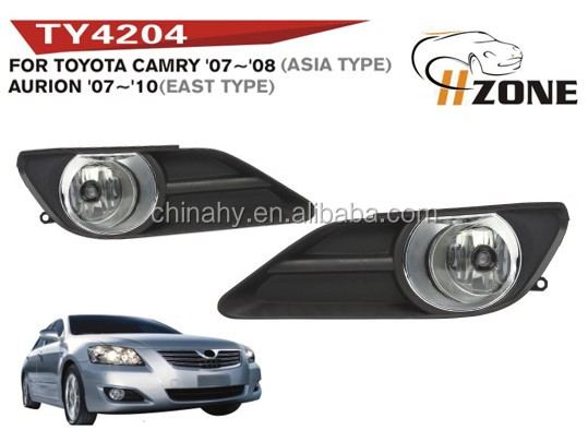 auto car accessories fog light for aurion 2007~2008 with DOT certification
